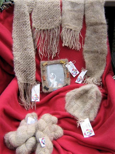 Saint Bernard Fur Yarn